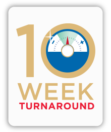 10-week turnaround logo